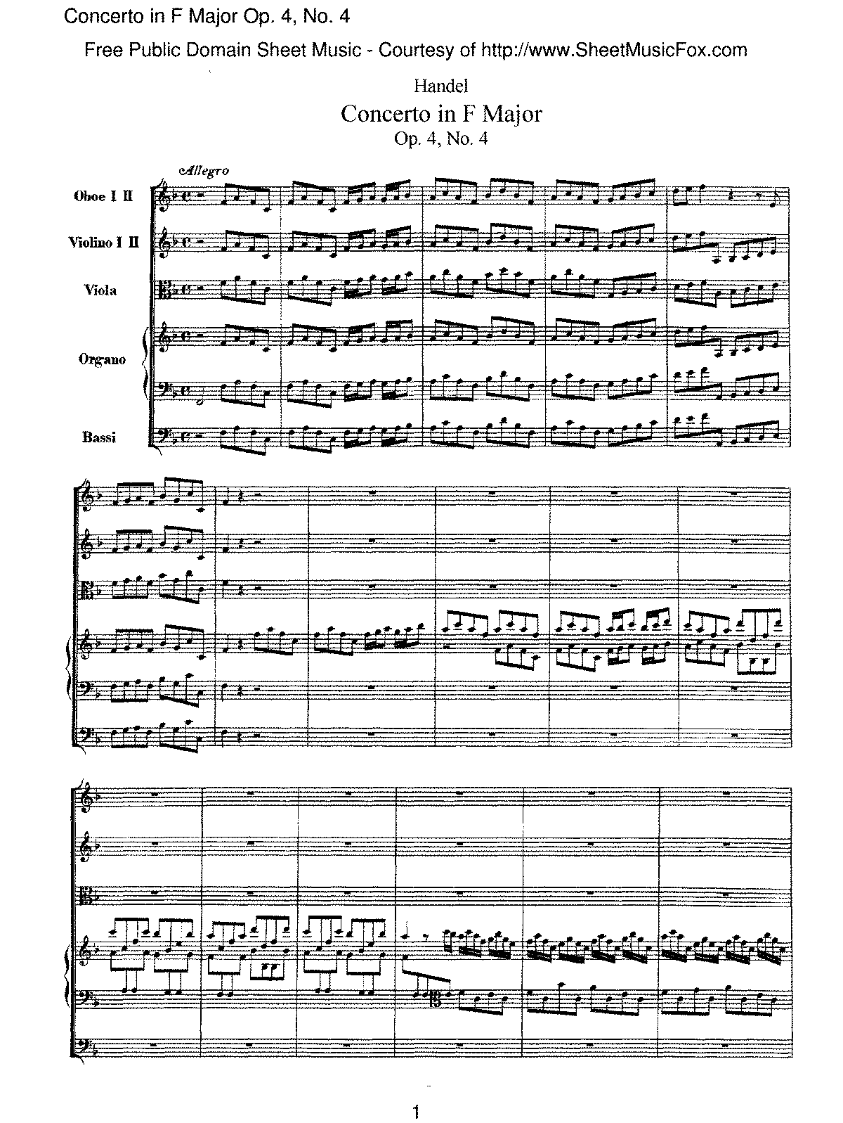 Handel - Concerto in F major, Op.4 No.4.pdf