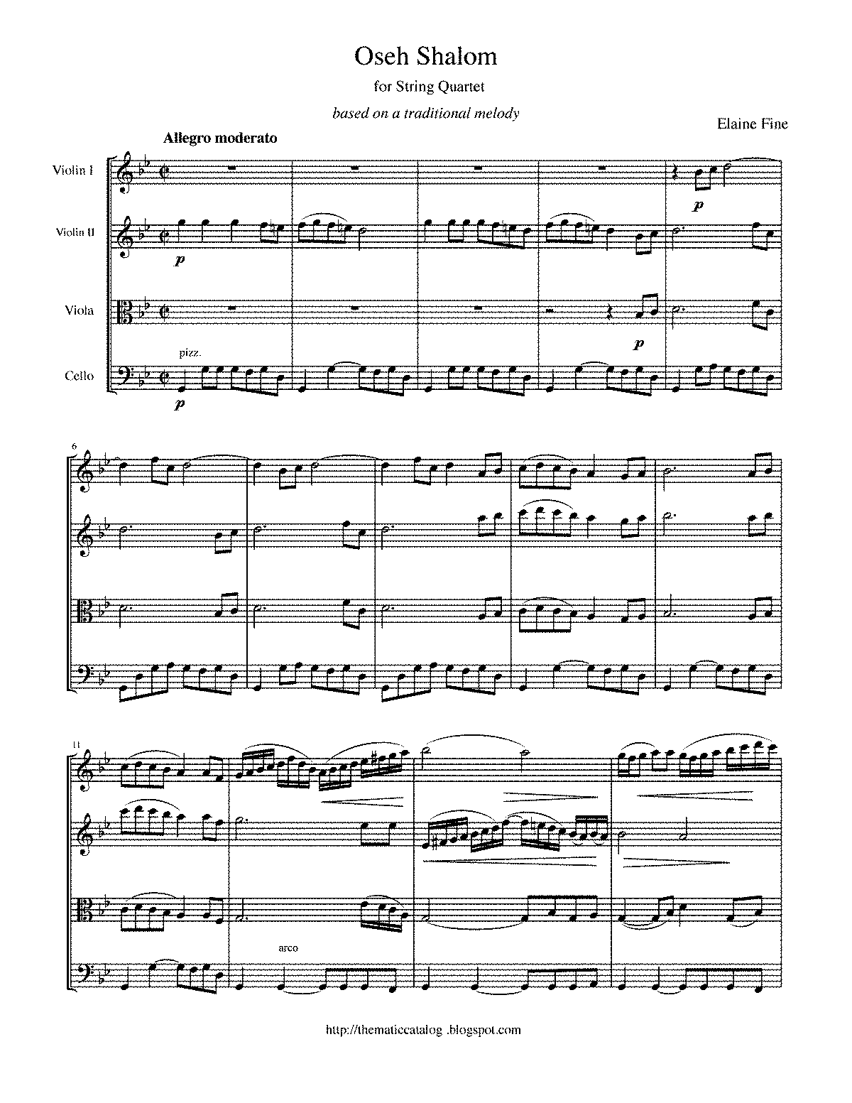 WIMA.549c-Fine Oseh Shalom for String Quartet.pdf