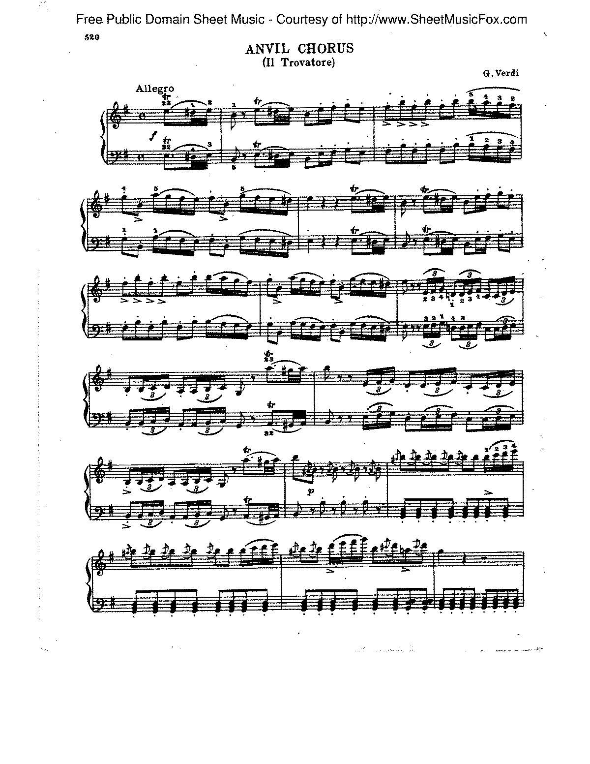 Verdi - Anvil Chorus from Il Travatore.pdf
