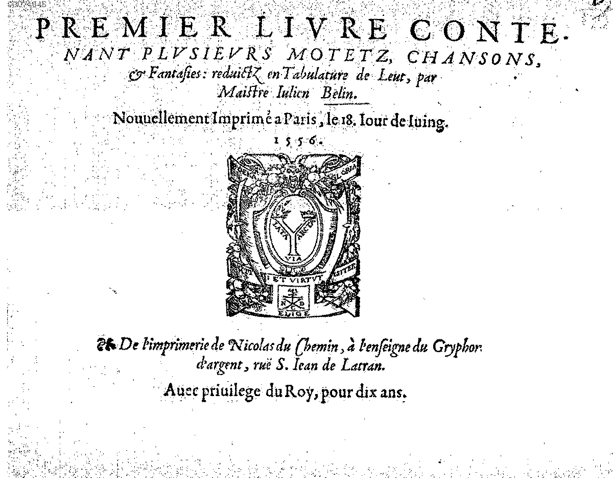 PMLP398156-belin, julien, 1 livre . lute tablature 1556.pdf