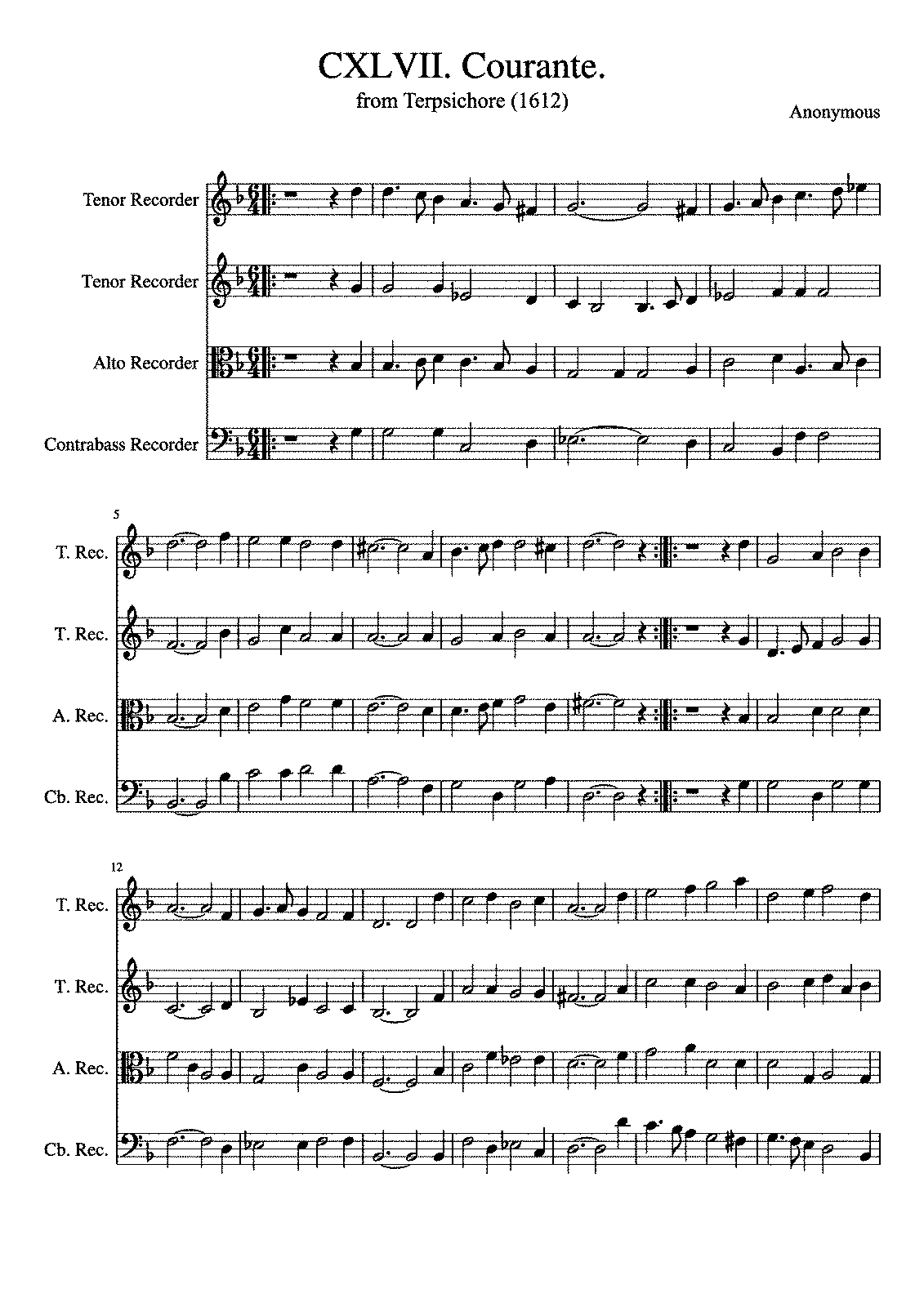 PMLP596564-CXLVII Courante from Terpsichore Anonymous 1612.pdf