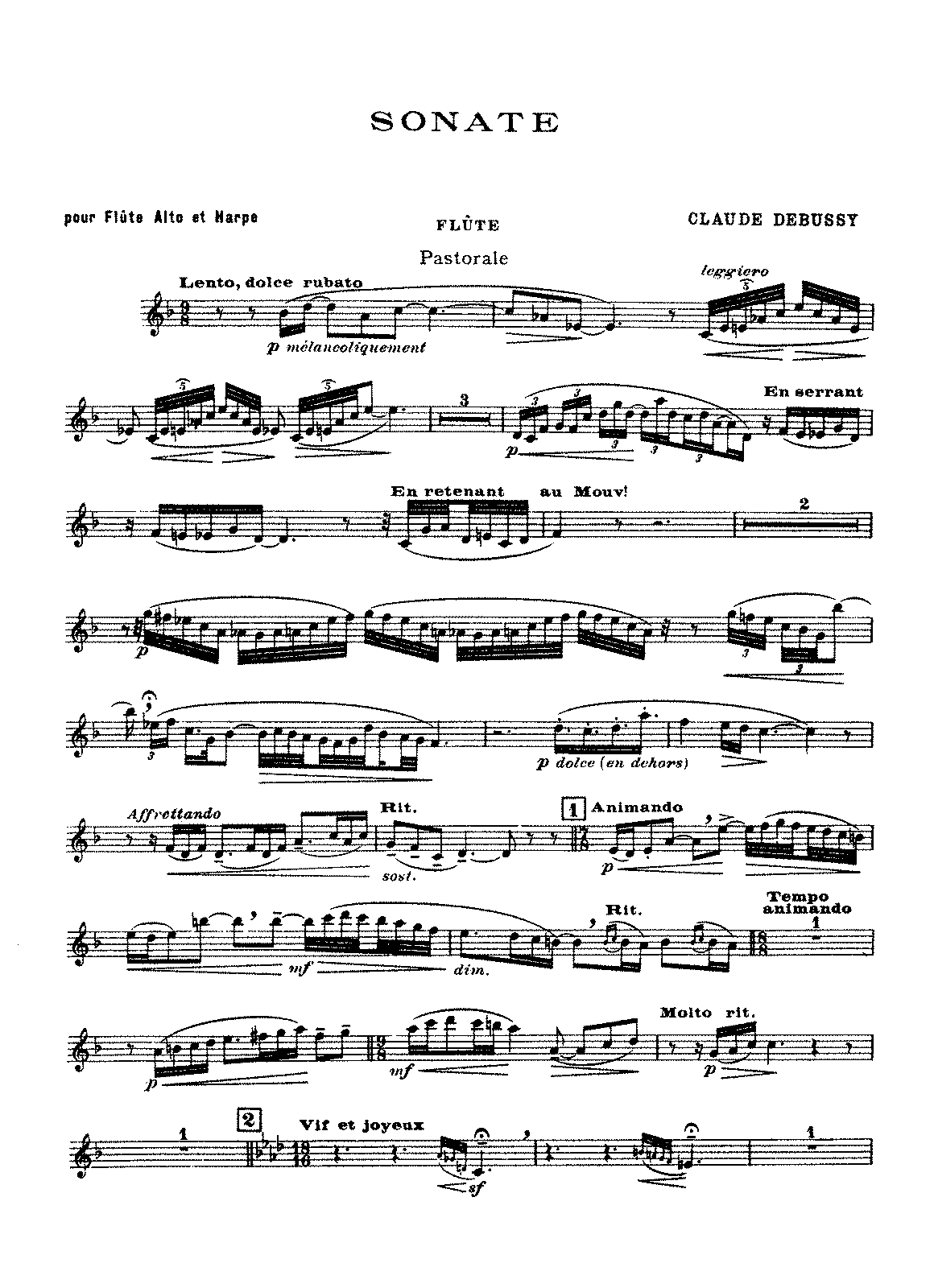 Debussy - Sonata for Flute, Viola and Harp (parts).pdf