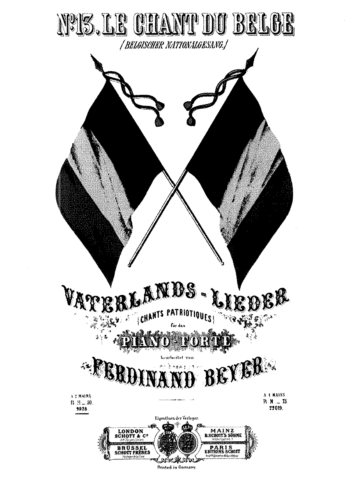 PMLP215418-Beyer - Vaterlands-Lieder no 13 Le Chant du Belge.pdf