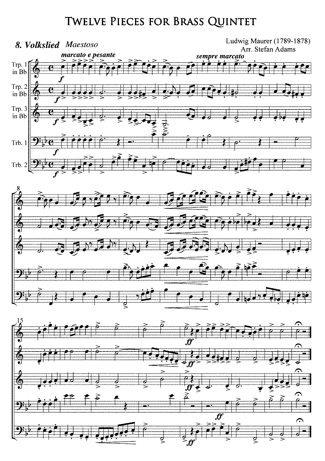 PMLP185891-Maurer Nr8 Volkslied(Folk Song) Full Score Trp in Bb.pdf