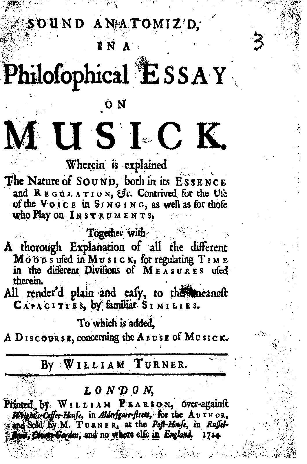 sound anatomiz d in a philosophical essay on musick turner javascript