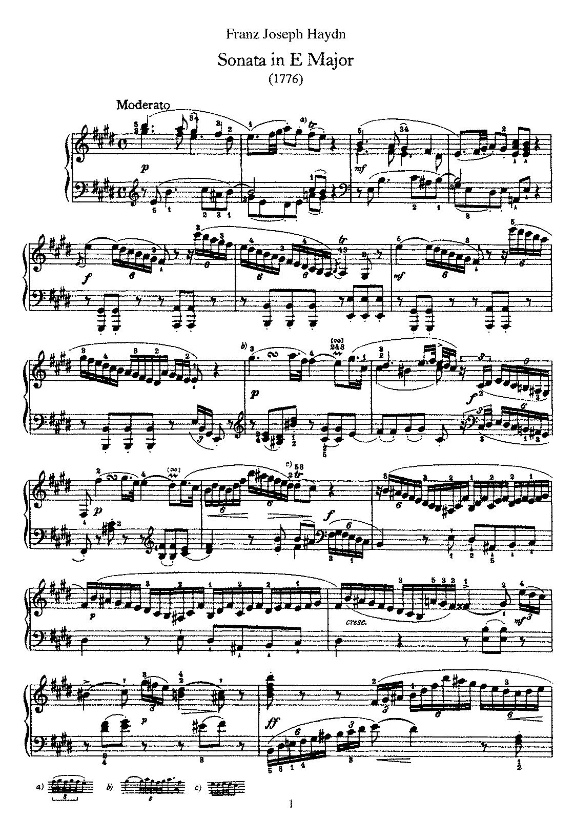 Haydn - Piano Sonata No 31 in E.pdf