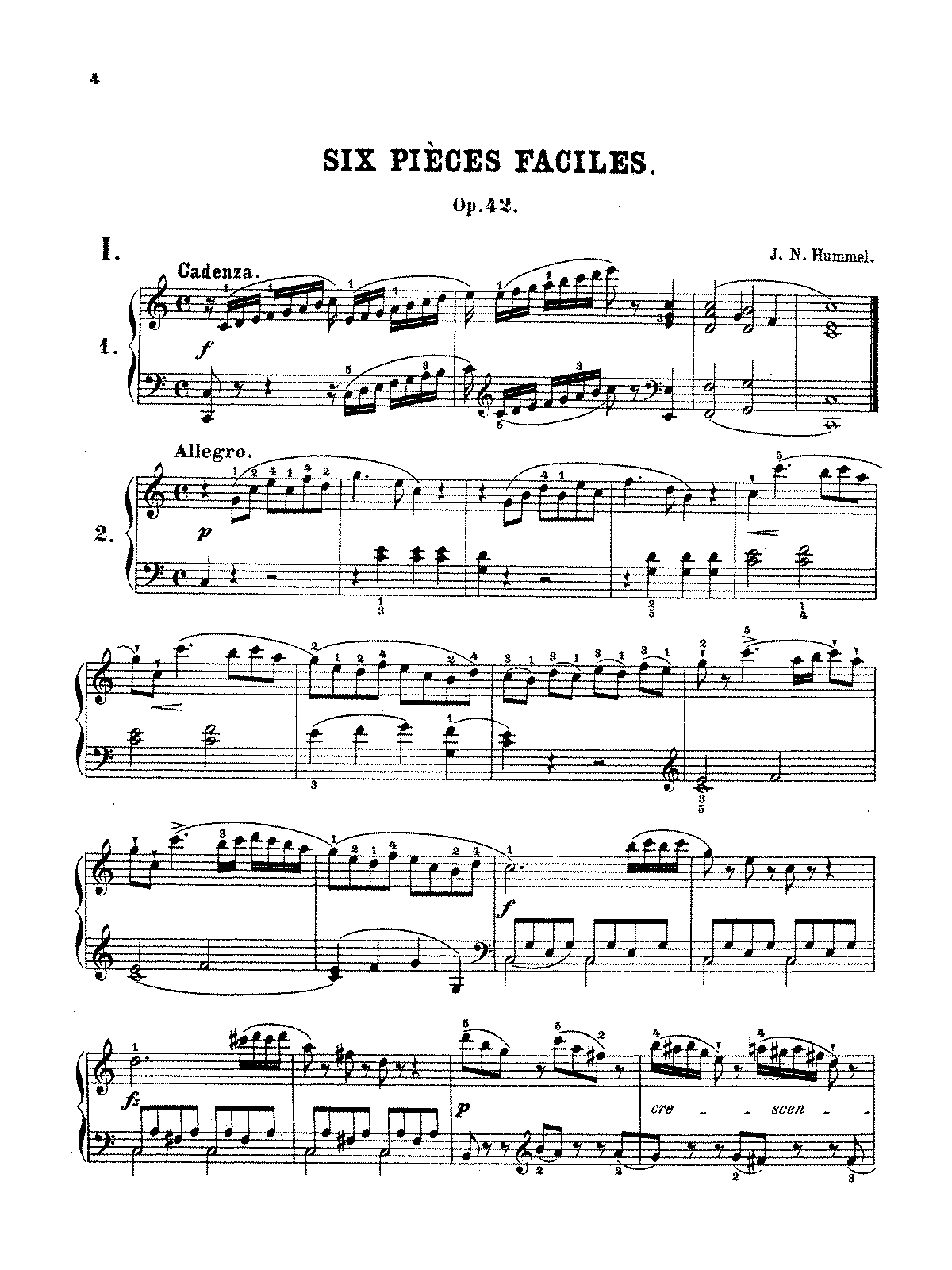 Hummel - 6 Easy Pieces, Op.42.pdf