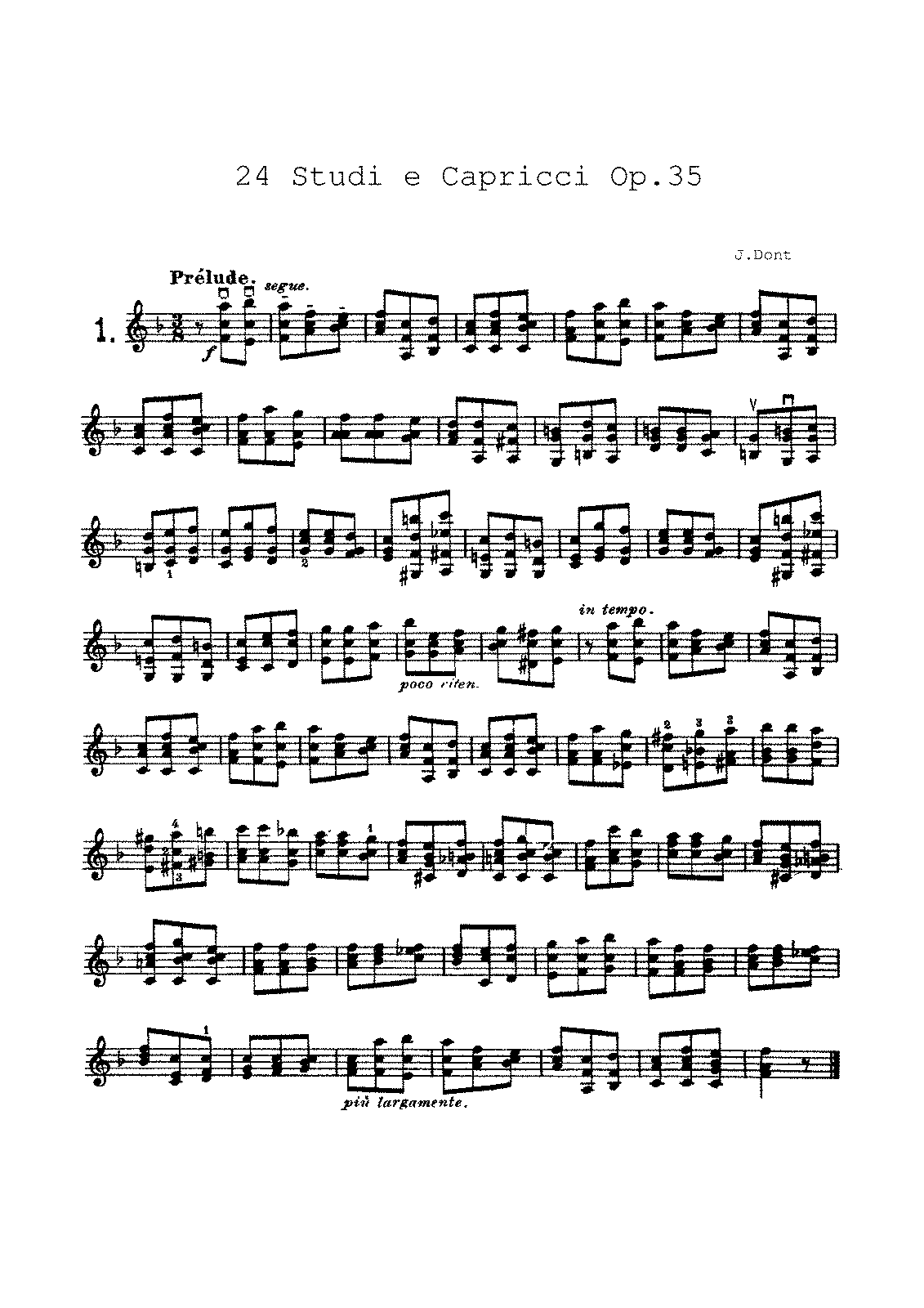 Dont - 01 - 24 Etudes and Caprices Op.35.pdf