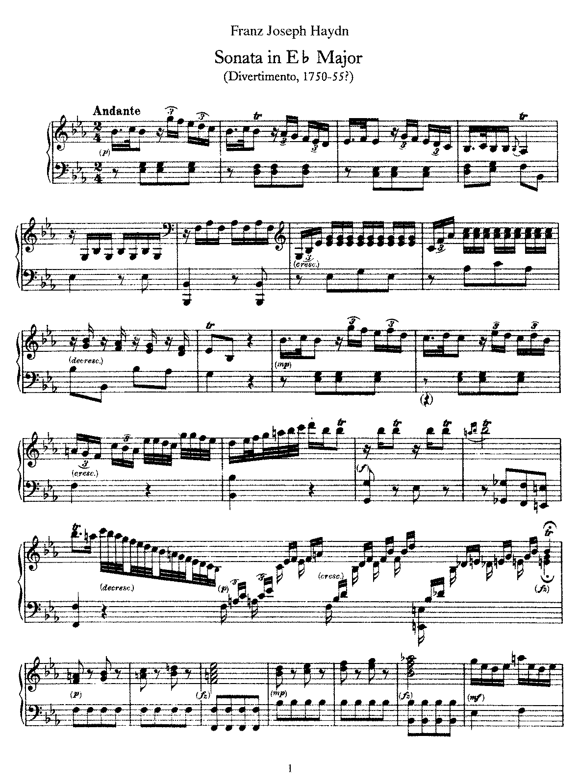 Haydn - Piano Sonata No 16 in Eb.pdf