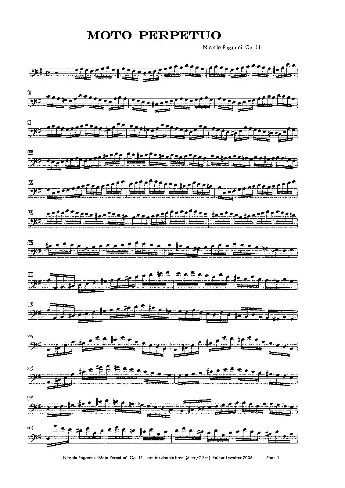 Suzuki Violin Perpetual Motion Little Suite No  Fingering