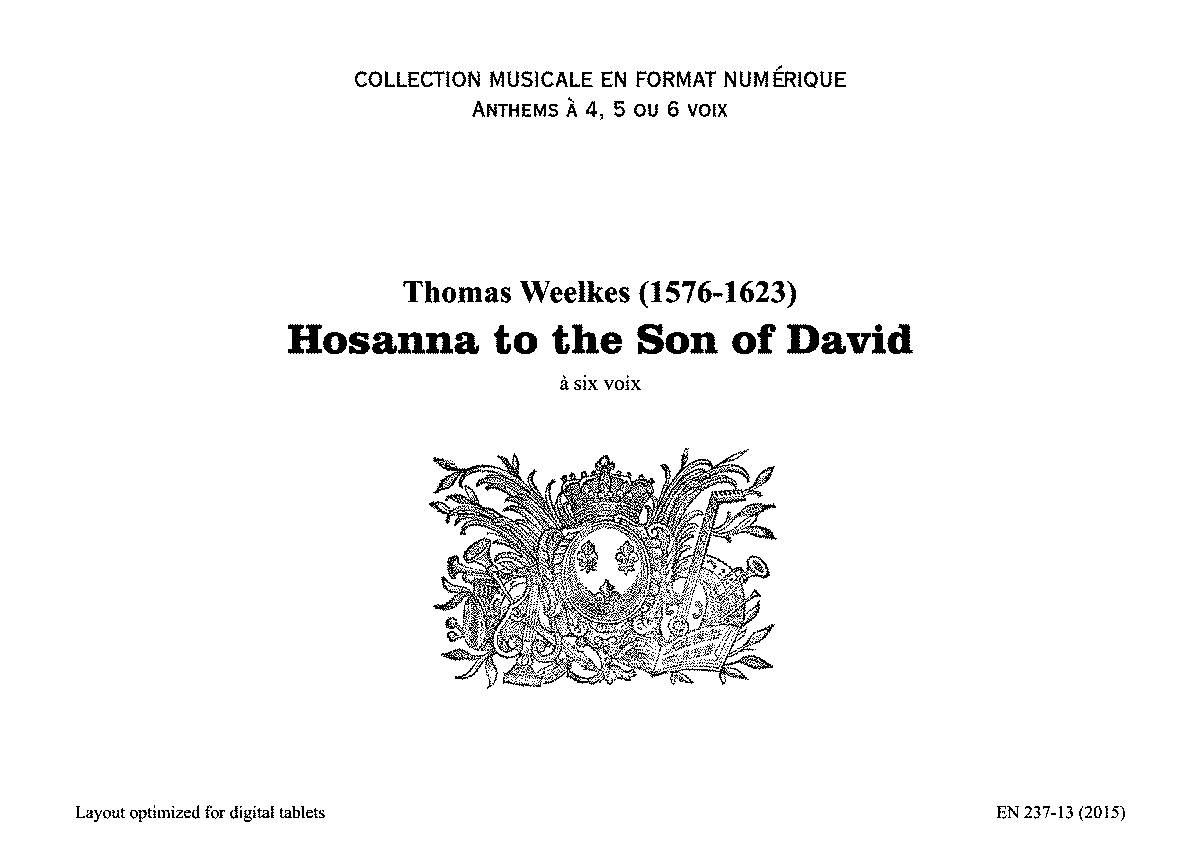 PMLP373008-Weelkes T - Hosanna to the Son of David - EN237-13(2015).pdf