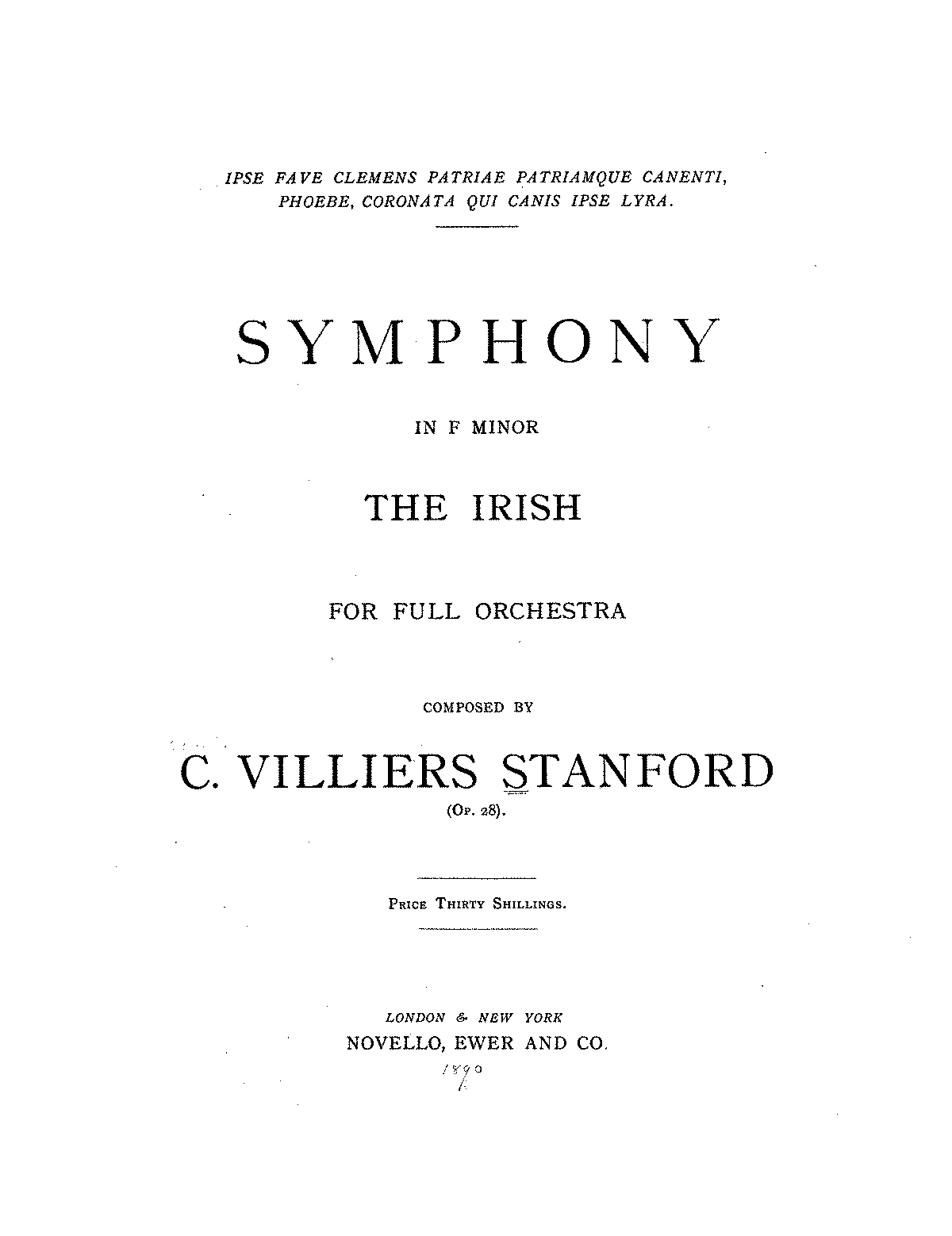 PMLP74119-Stanford - Symphony No 3 in f 'The Irish' Op 28 - 1 - Allegro moderato.pdf