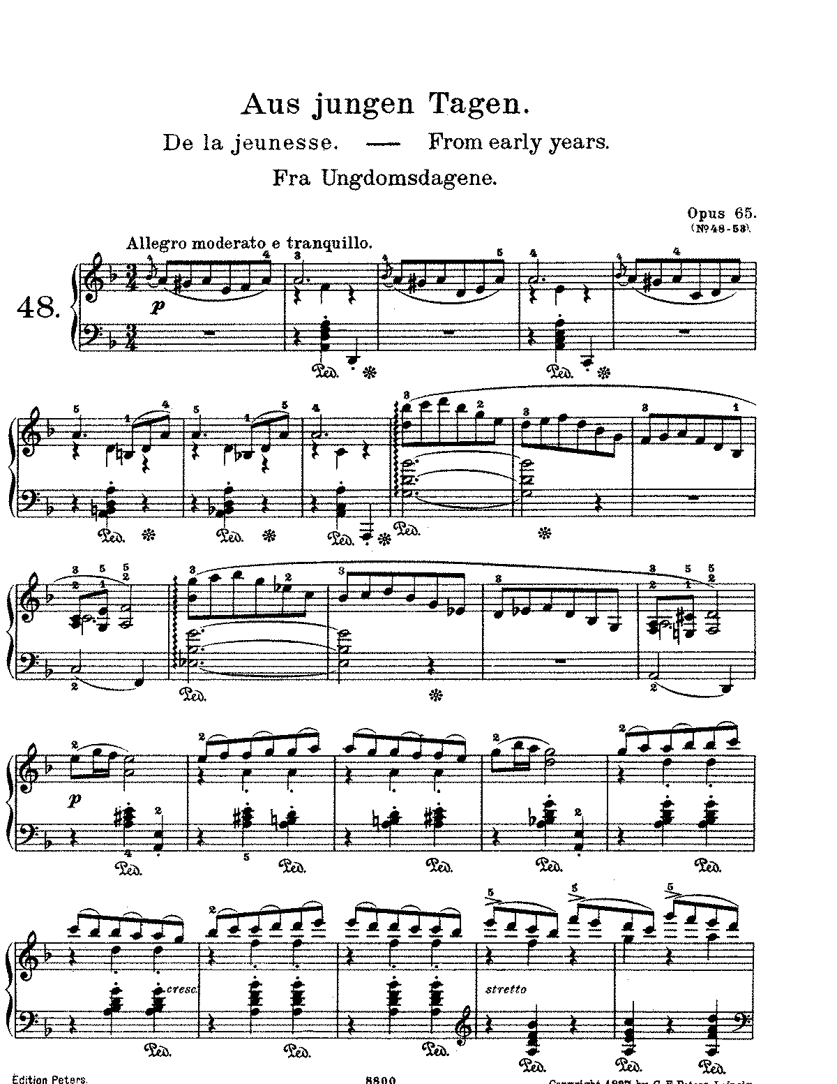 Grieg - Lyric Pieces, Op 65.pdf