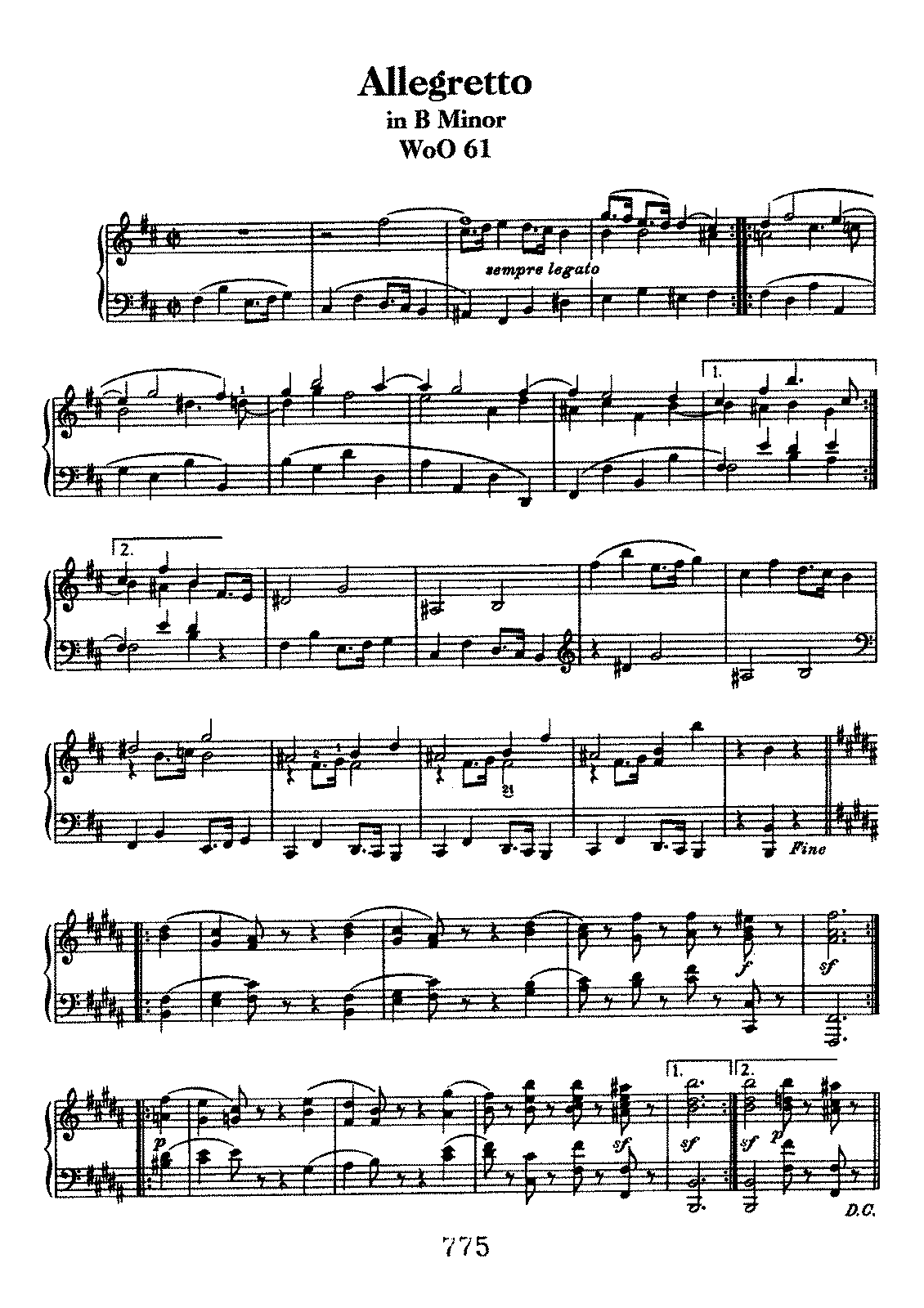 Beethoven woo61 Allegretto in b.pdf