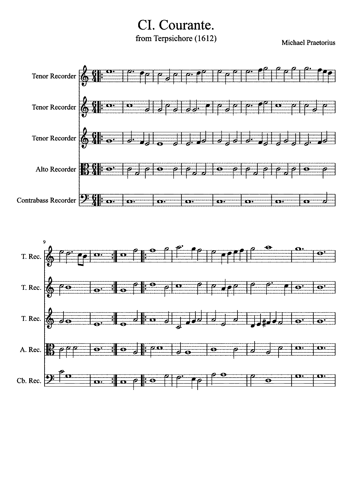 PMLP592349-CI Courante from Terpsichore Michael Praetorius 1612.pdf