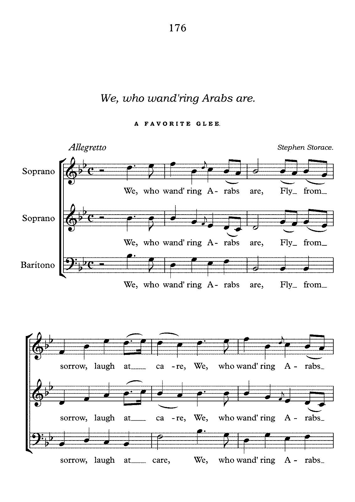 PMLP599862-We, who wand'ring Arabs are - Stephen Storace - Partitura completa.pdf