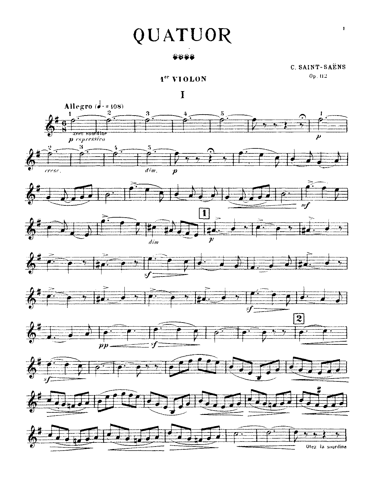 PMLP60205-Saint-Saëns - String Quartet No. 1, Op. 112 (parts).pdf