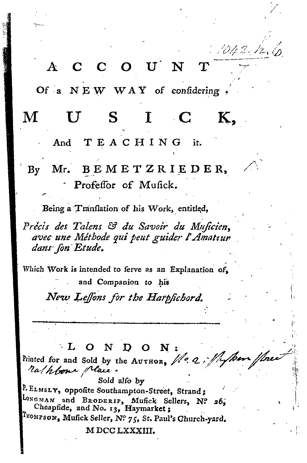 PMLP139964-bemetzrieder Account of a new way of considering musick, and teaching it 1783.pdf