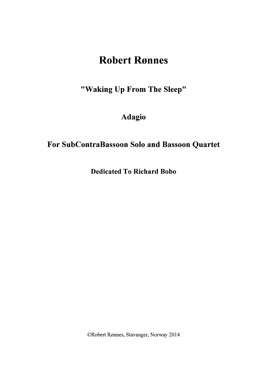PMLP578156-R.Rønnes Quintet For SubContraBassoon and Bassoon Quartet SCORE.pdf
