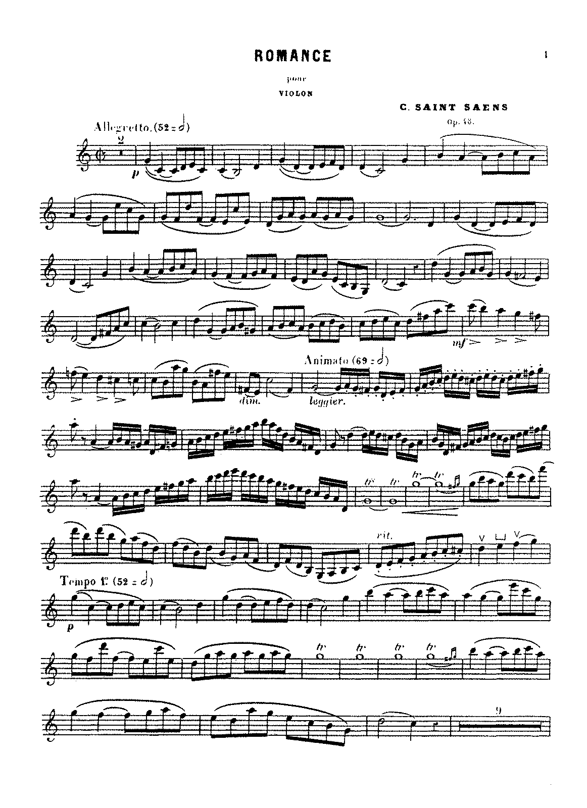 PMLP70673-Saint-Saëns - Romance, Op. 48 (violin and piano).pdf