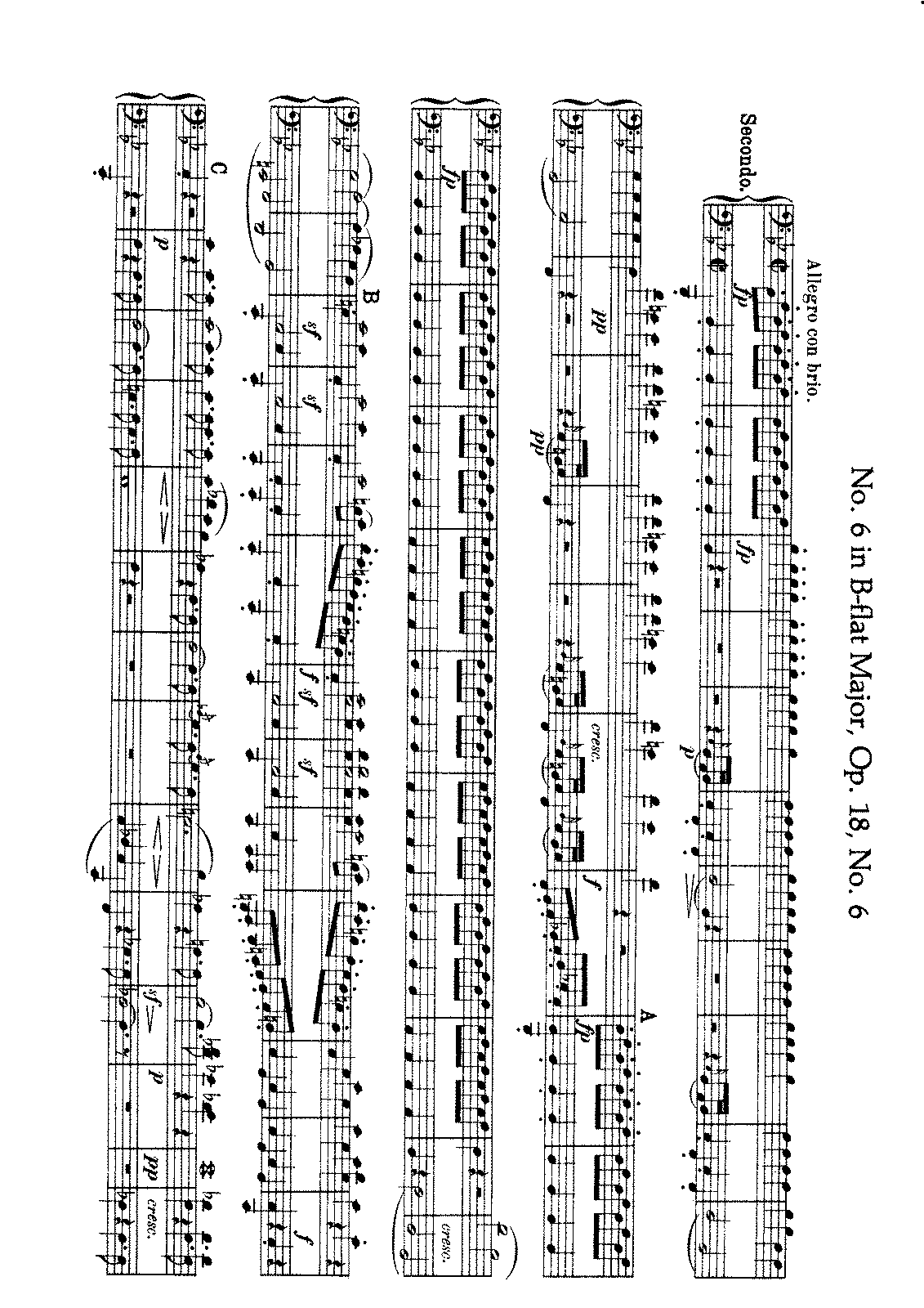 Beethoven - String Quartet No. 6 (Arr. for Piano 4 h.).pdf