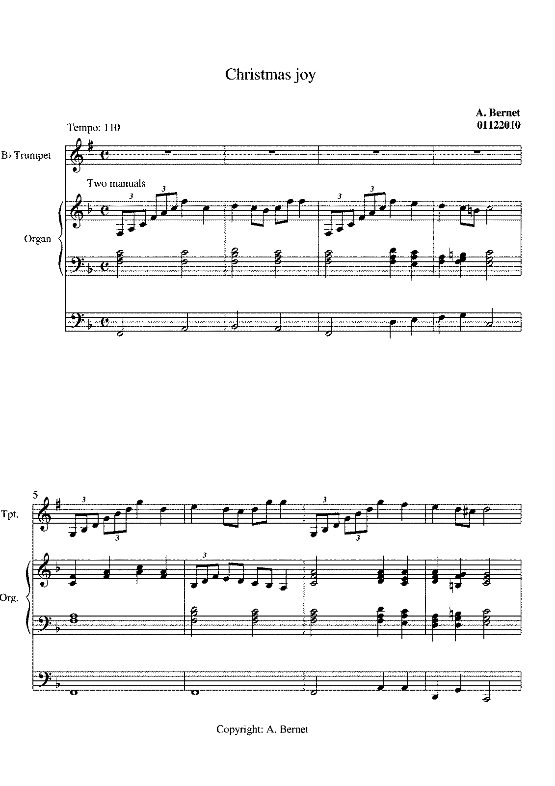 Christmas Joy (Bernet, Atie) - IMSLP/Petrucci Music Library: Free ...