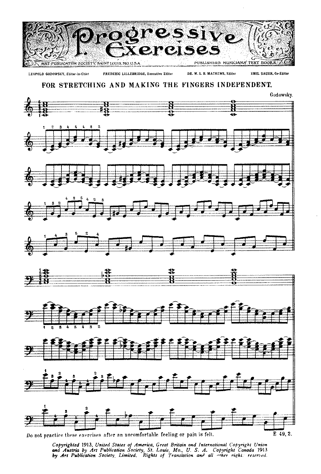Godowsky - Piano Exercises.pdf