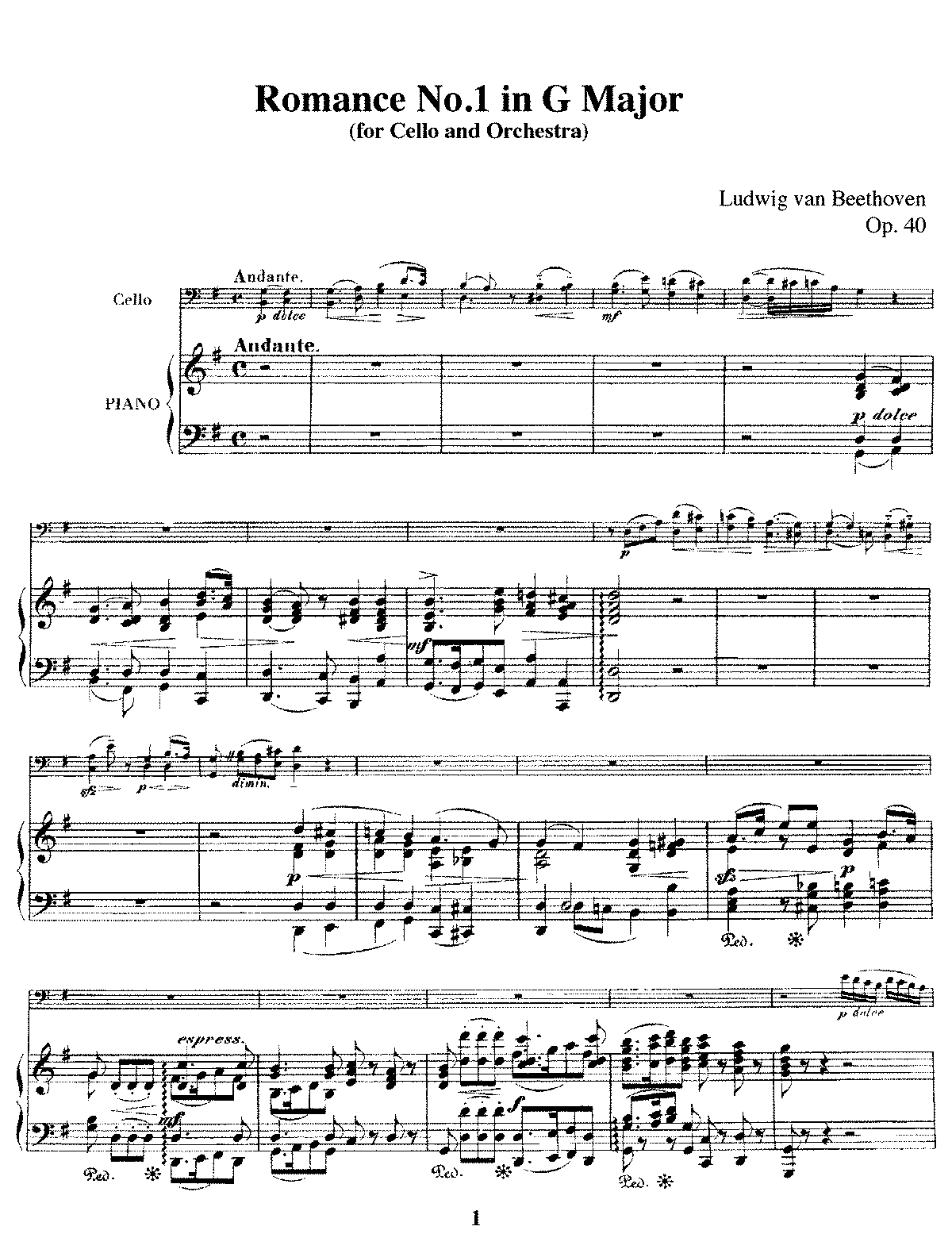PMLP03057-Beethoven - Romance No1 in G Major Op40 cello piano.pdf