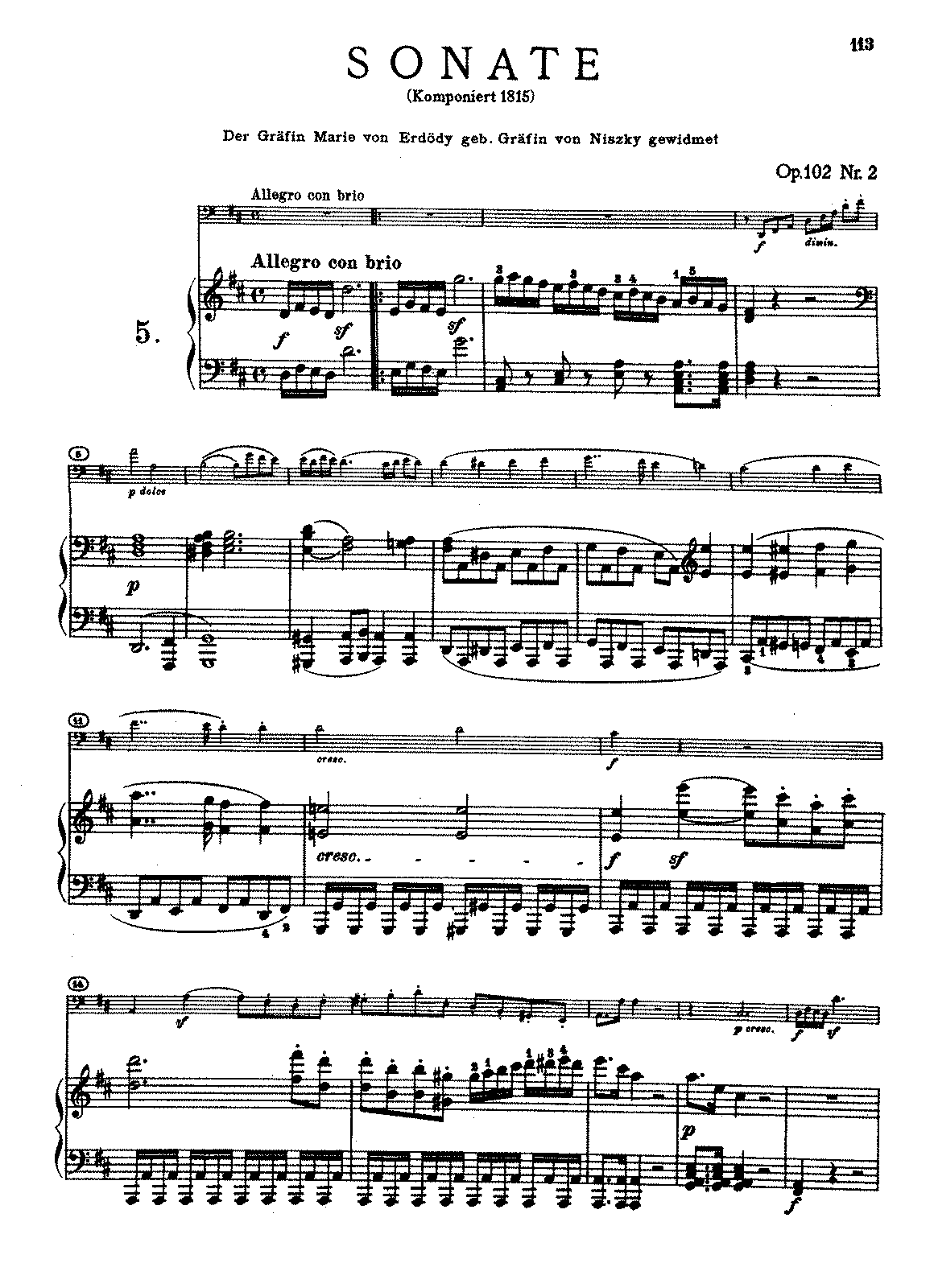 Beethoven - Cello Sonata No5.pdf