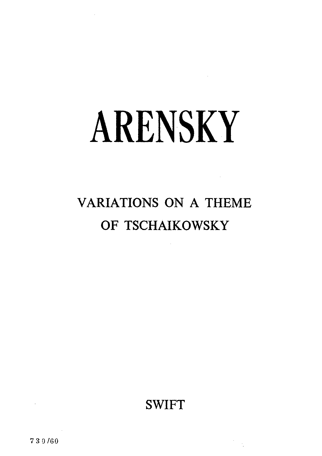 PMLP194168-Arensky, AS, Variations on a Theme by P.Tschaikovsy, Op.35a FS.pdf