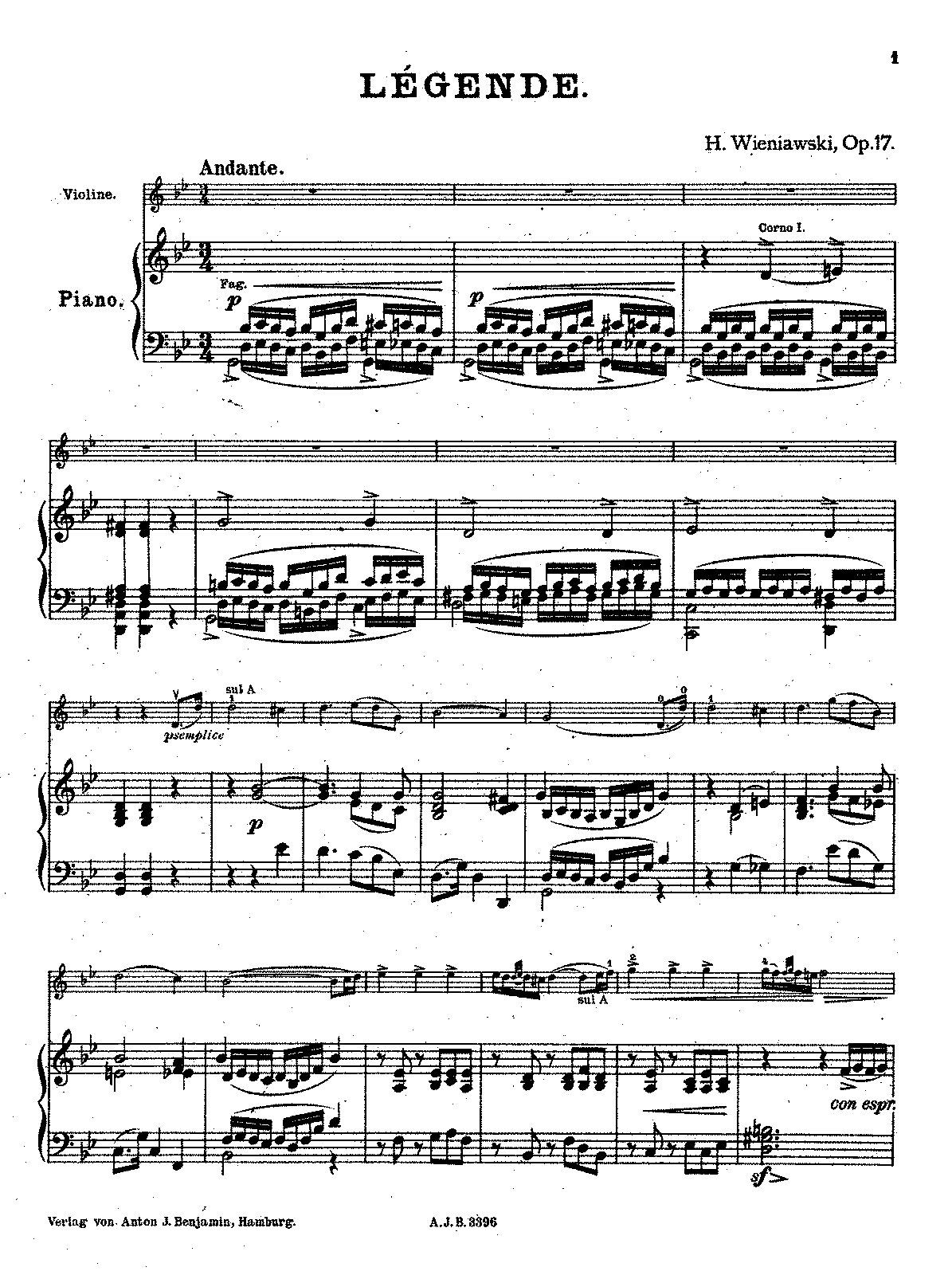 PMLP17449-Wieniawski - Legende Op17 (Hamburg) piano part.pdf