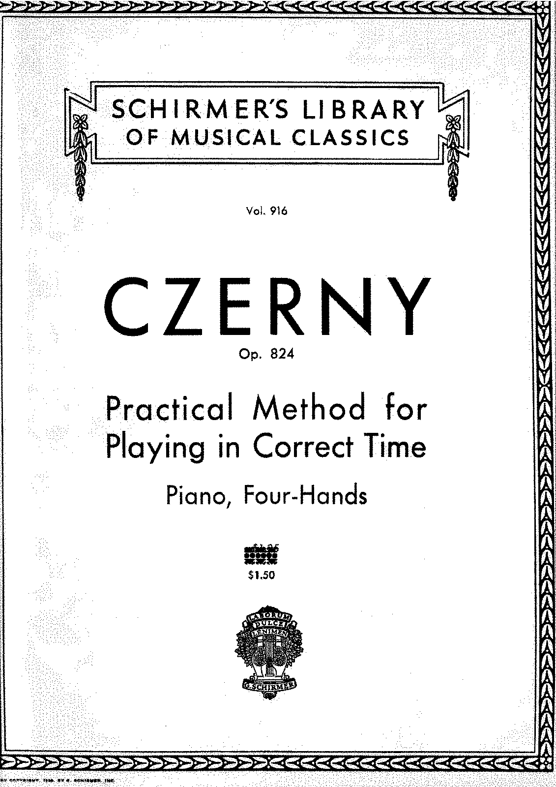 PMLP580823-Czerny - 824 Practical Method for Playing in Correct Time.pdf
