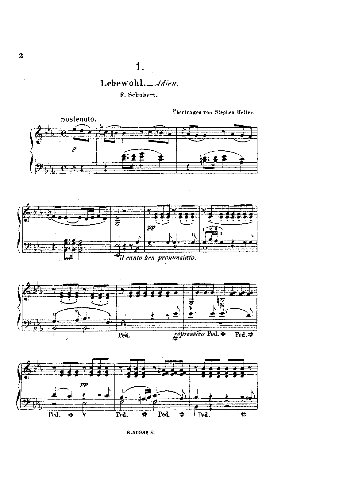 Heller - Op.misc - 30 Melodies of Schubert.pdf
