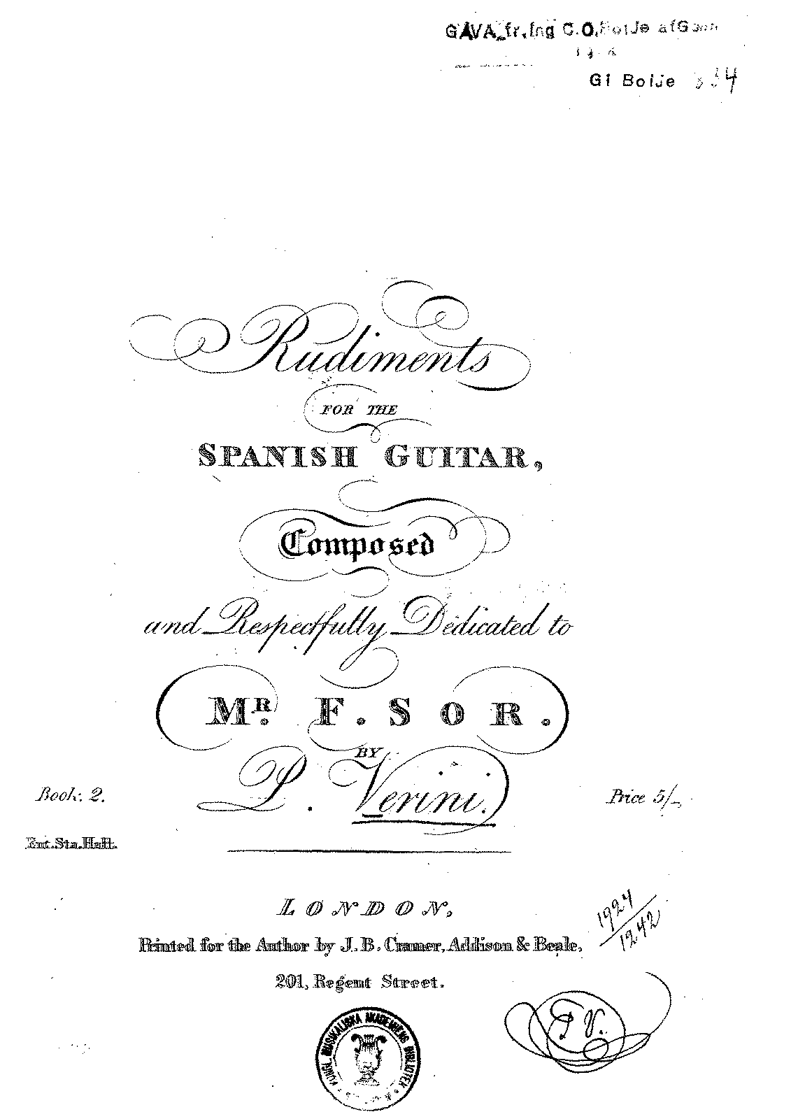 PMLP95536-Verini - Rudiments for the Spanish Guitar - Book 2.pdf