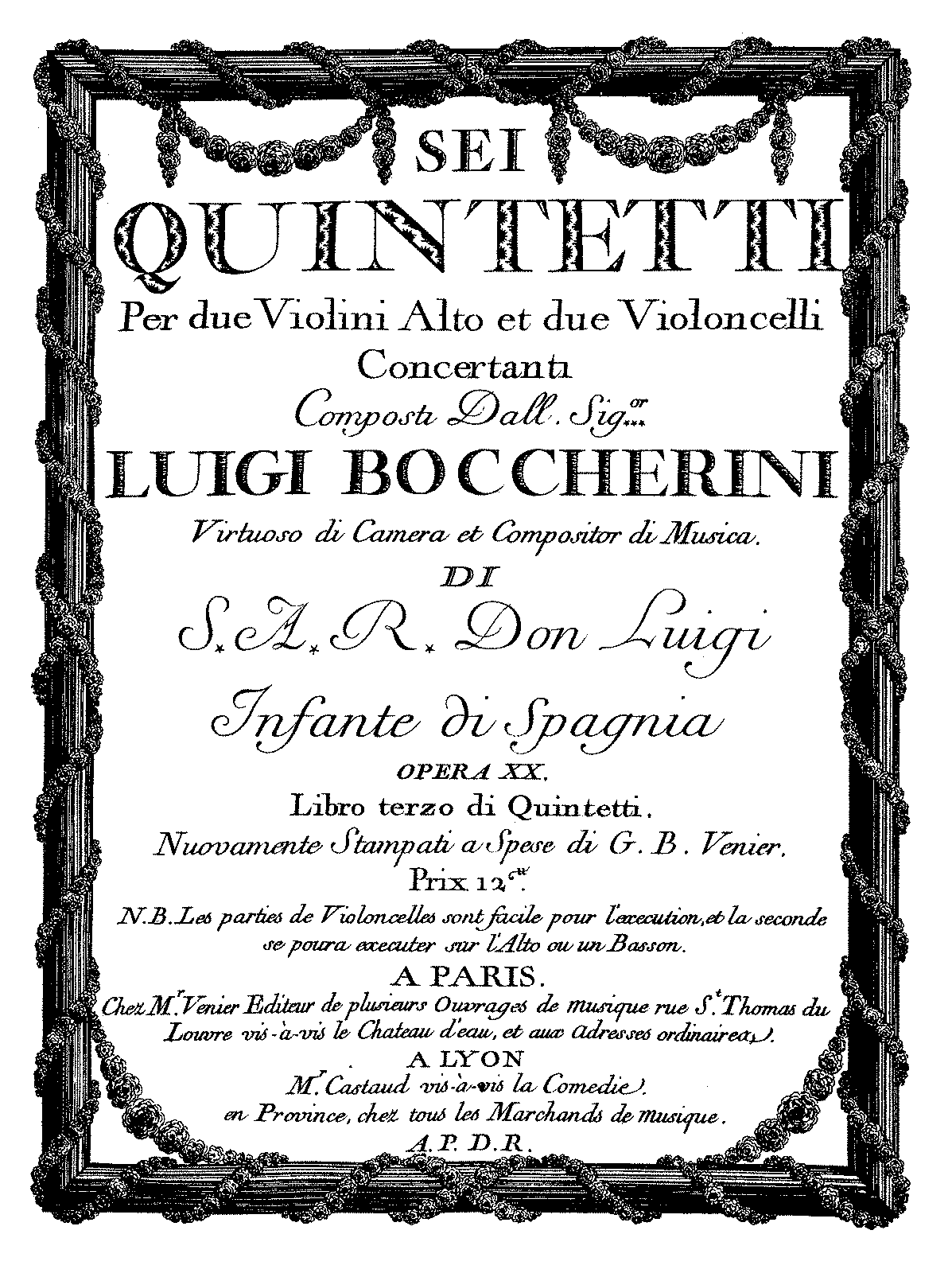 PMLP143770-Boccherini - Quintet Op13 No5 for 2Violins Viola 2Cellos G281 in AM violin1.pdf