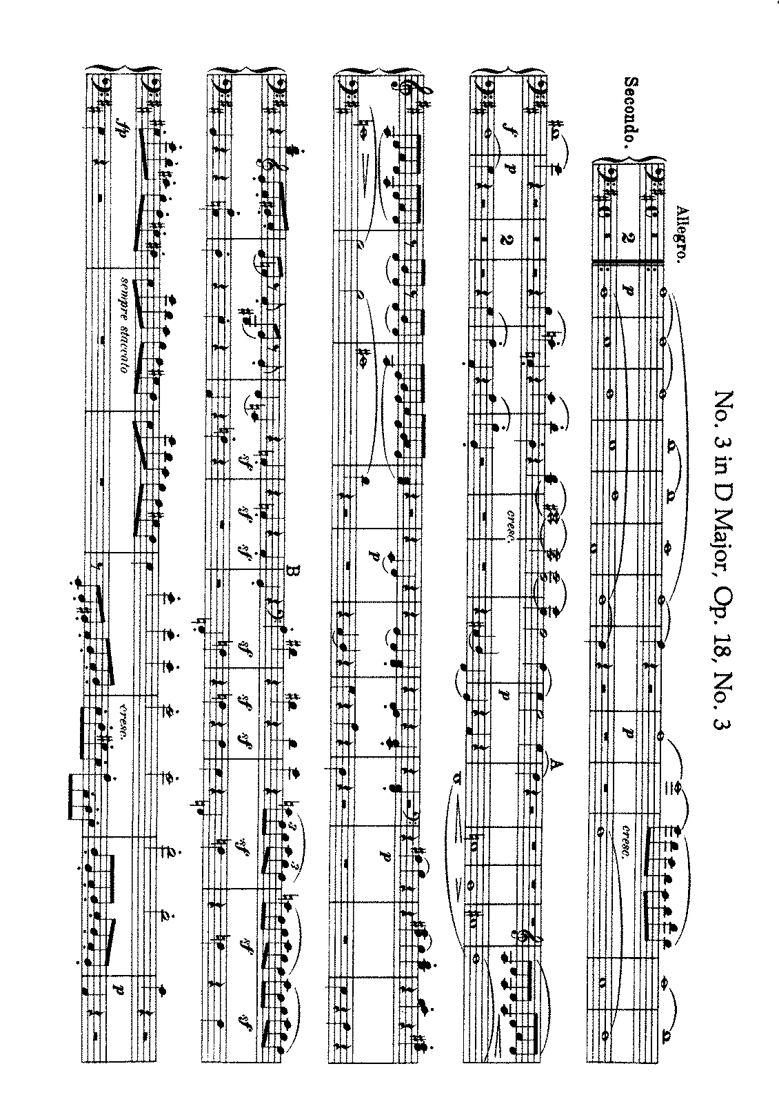 Beethoven - String Quartet No. 3 (Arr. for Piano 4 h.).pdf