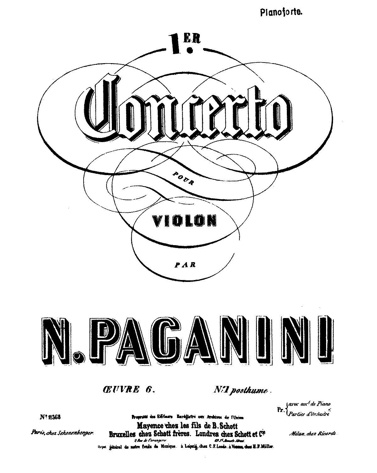 PMLP30286-Paganini - Violin Concerto No1 Op6 (in Eb Major) (Schott) piano score.pdf
