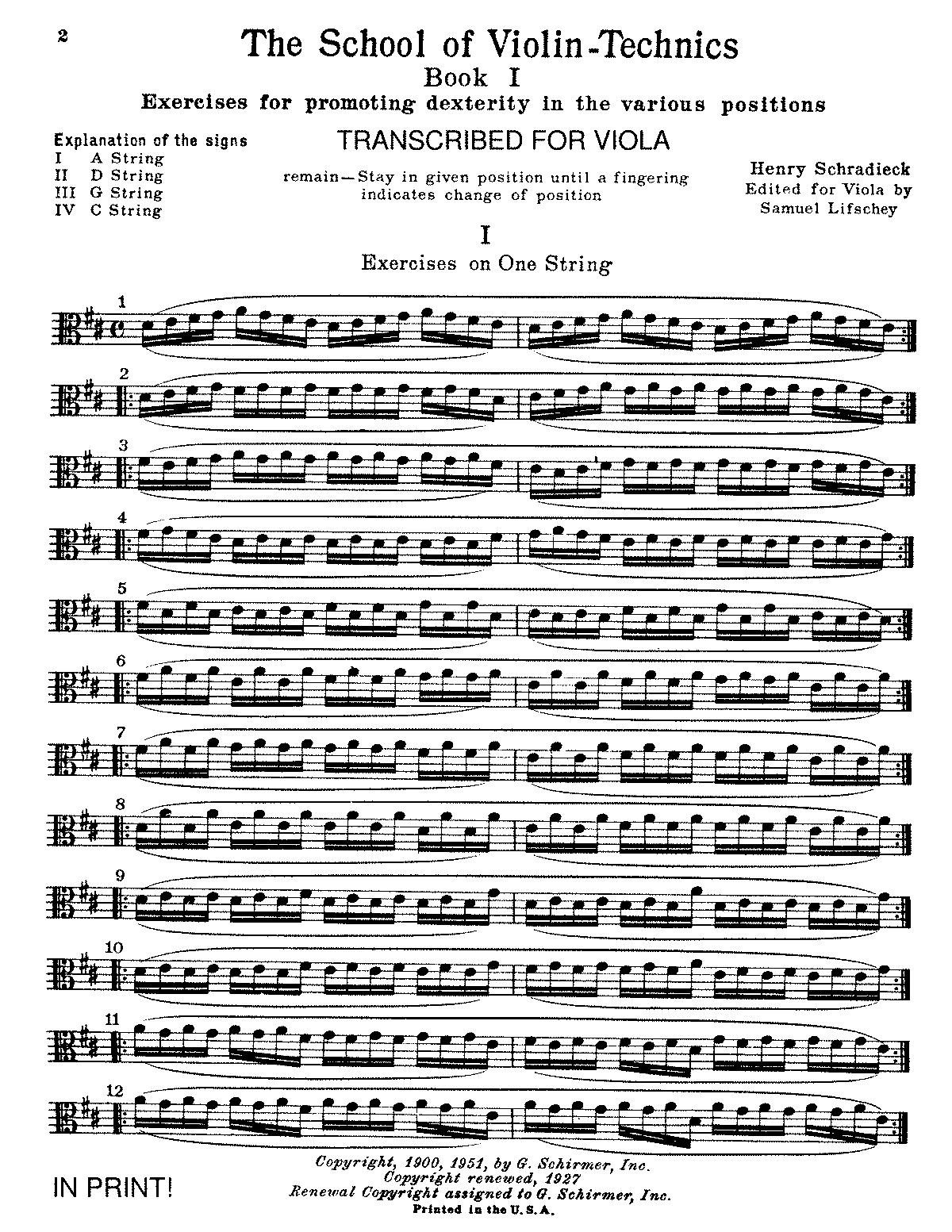 PMLP109259-Schradieck - the School of Violin Technics, book1, Dexterity (viola).pdf