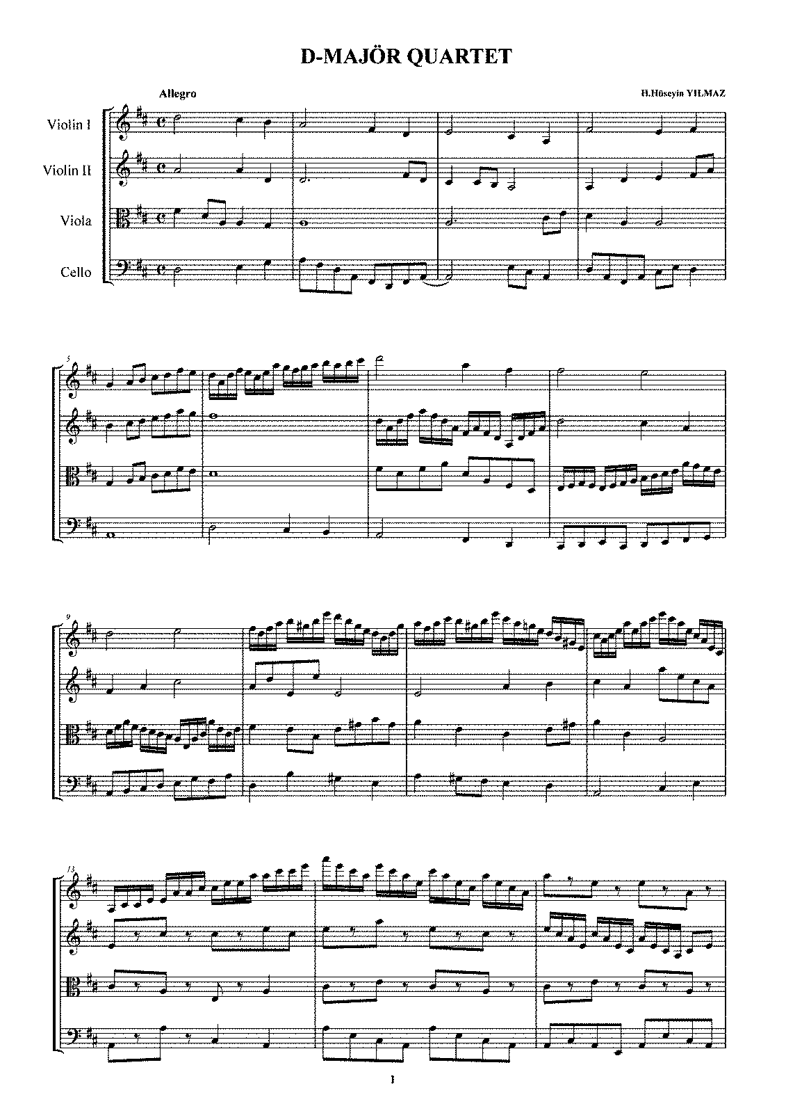 PMLP538884-Quartet in D-dur. Composed by Hasan Hüseyin YILMAZ.pdf