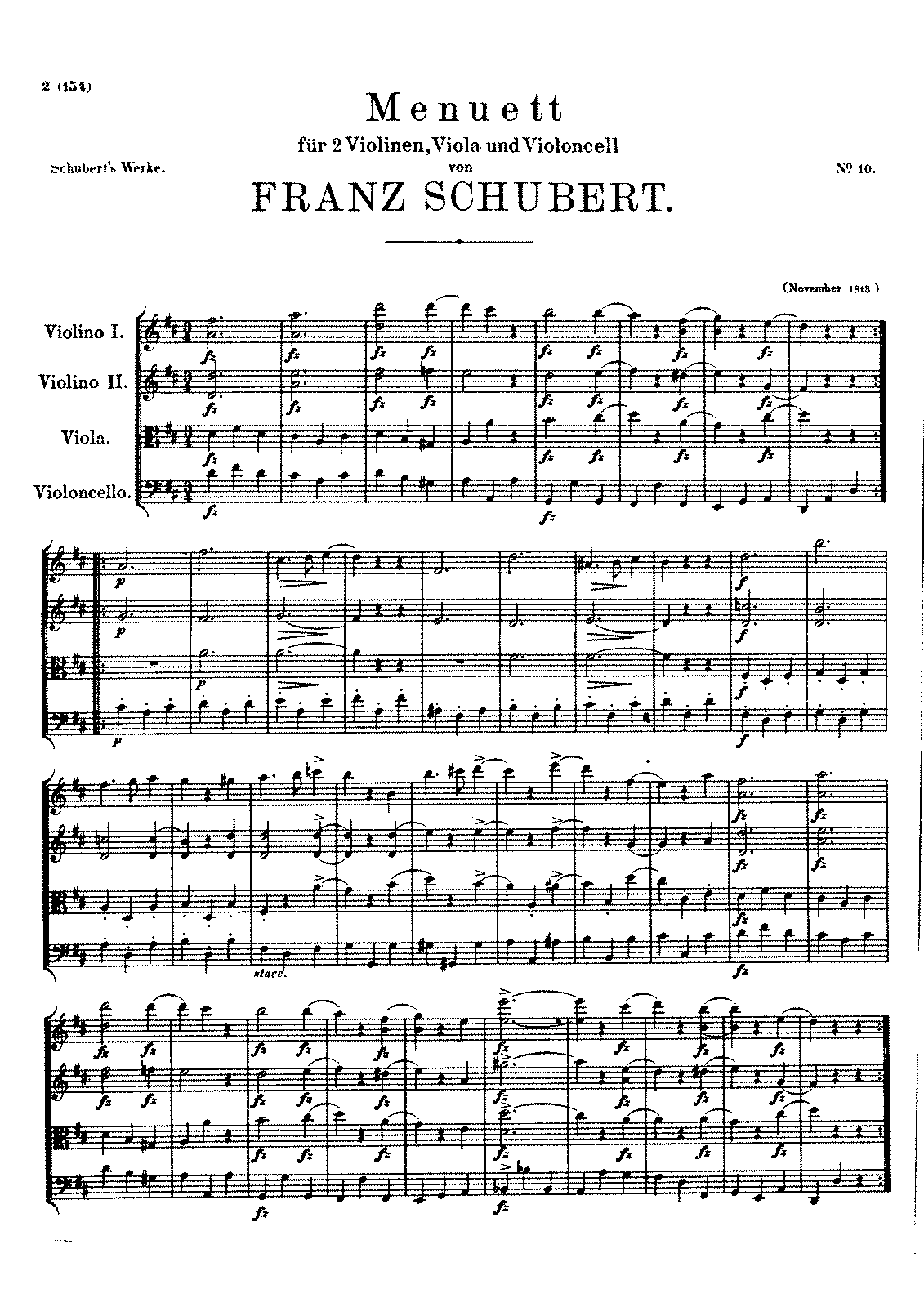 SchubertD086 Minuet in D for String Quartet.pdf