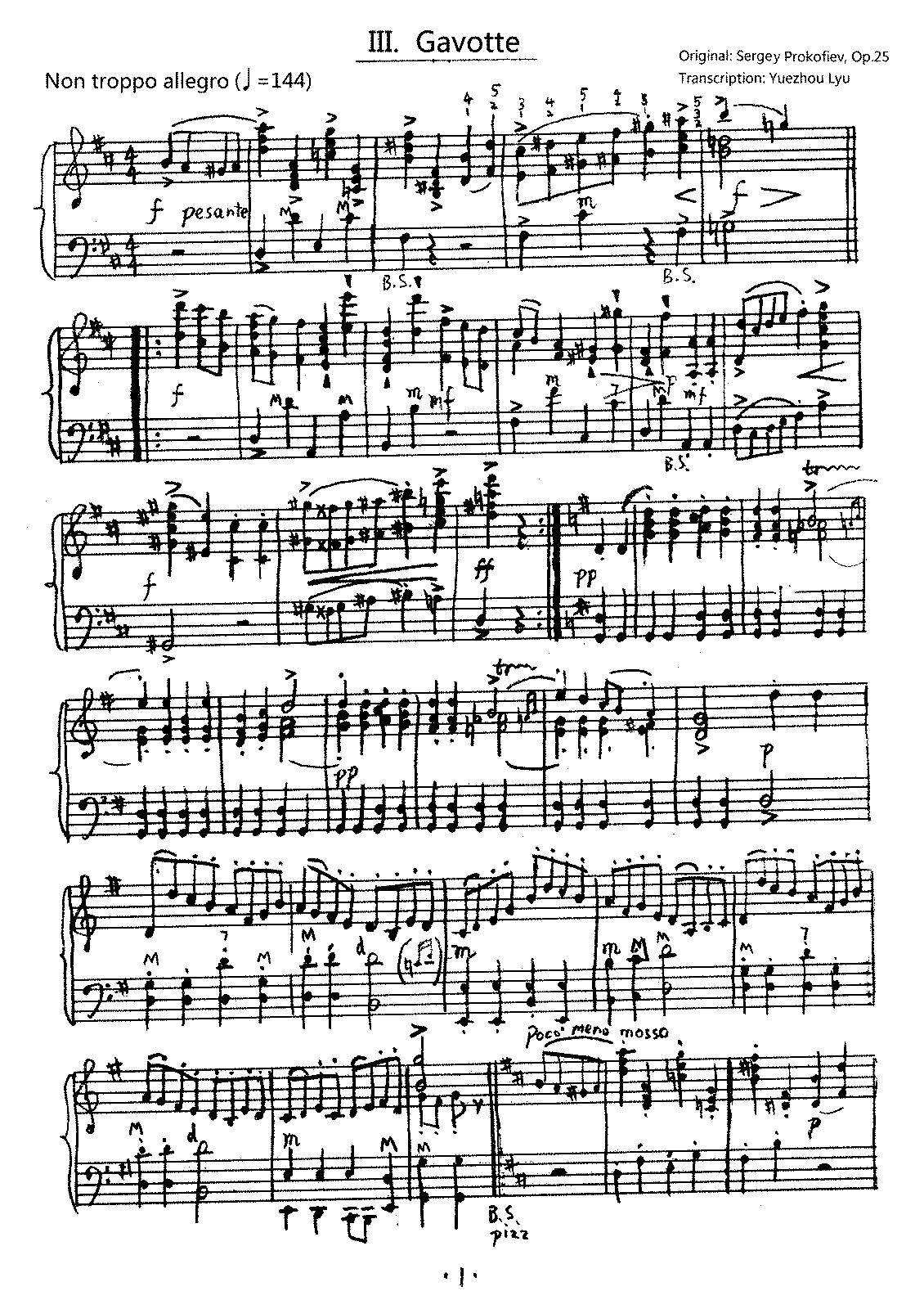 PMLP04505-III. Gavotte-Non troppo allegro, Symphony No.1, Op.25 (Accordion Arrangement).pdf