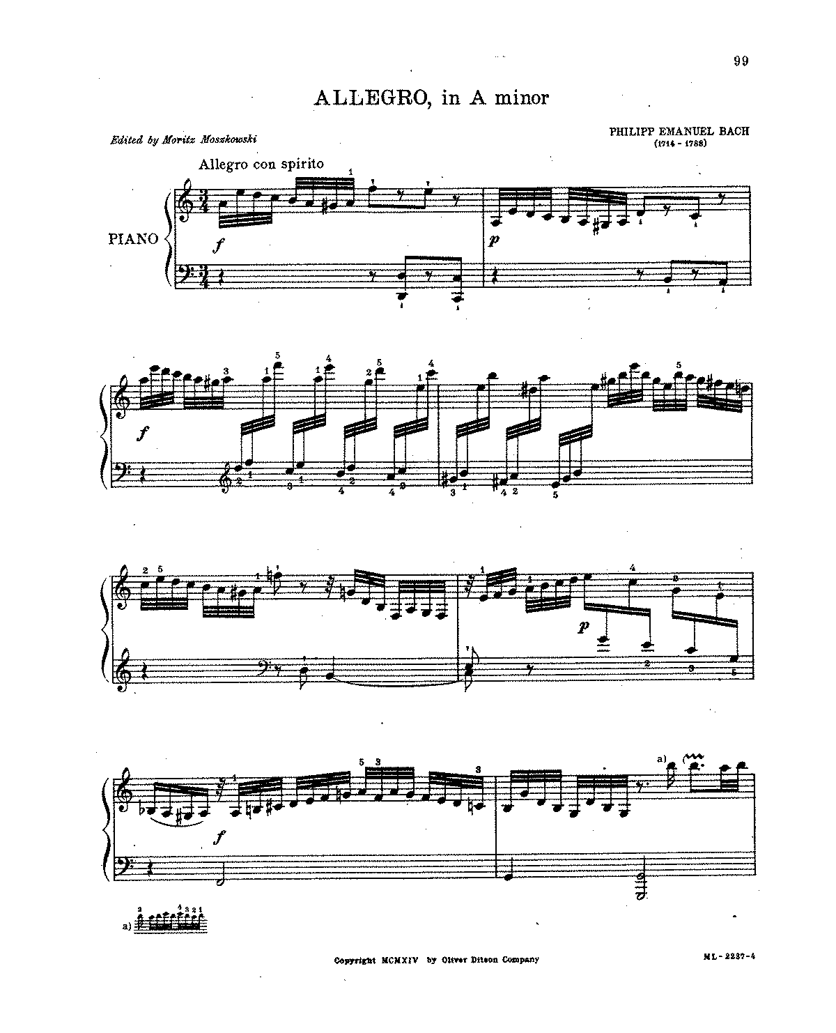 Bach, CPE - Allegro in A minor.pdf