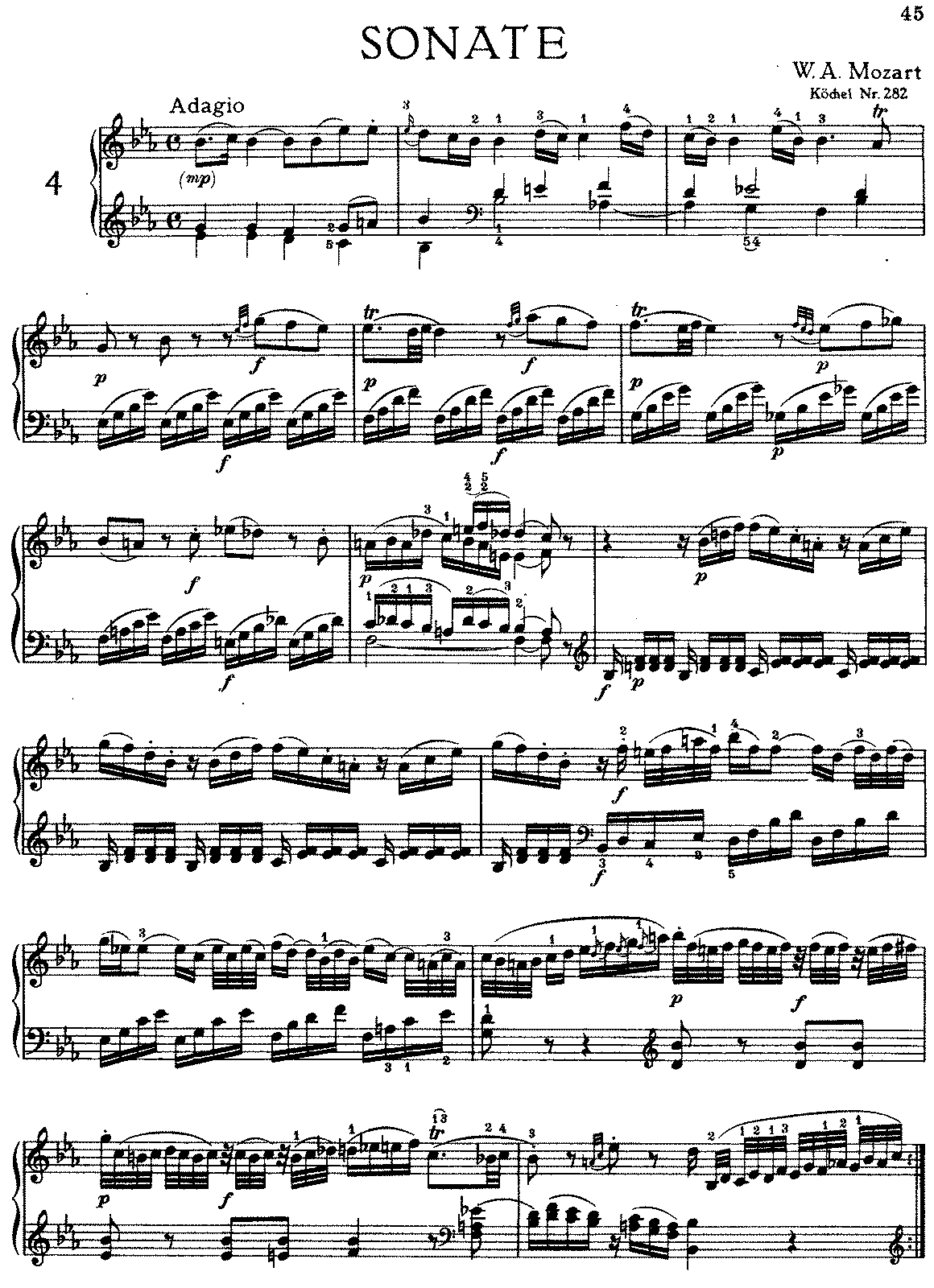 analysis of andante mozart sonata k310 Mozart k310 sonata (2nd movement) analyzation the 2nd movement of the mozart k310 piano sonata resembles standard sonata form in many ways it opens with a first theme in f (same as key signature.