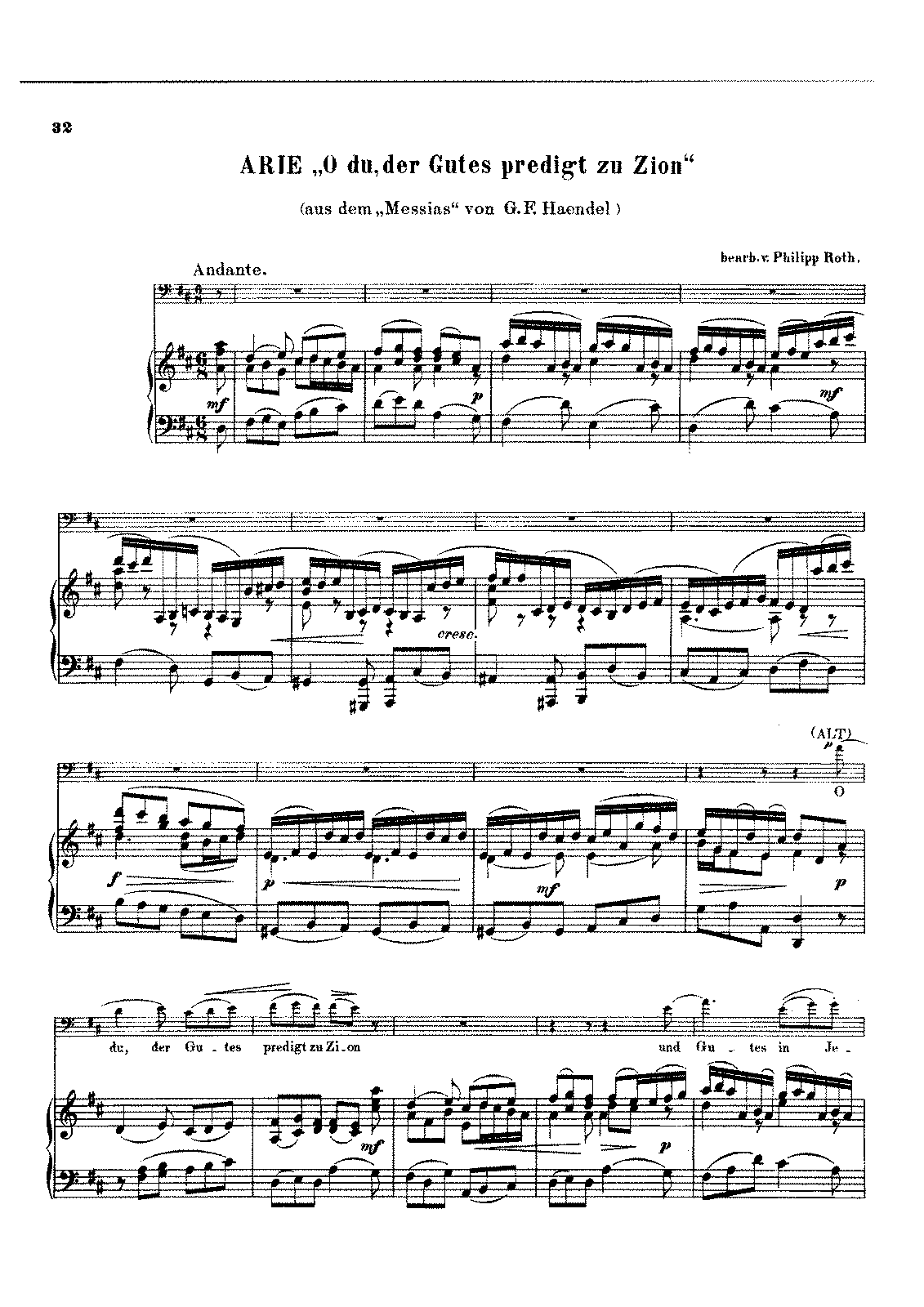 PMLP22568-Handel - Aria O du der Gutes predigt zu Zion from Messias (Roth) Cello Piano score.pdf