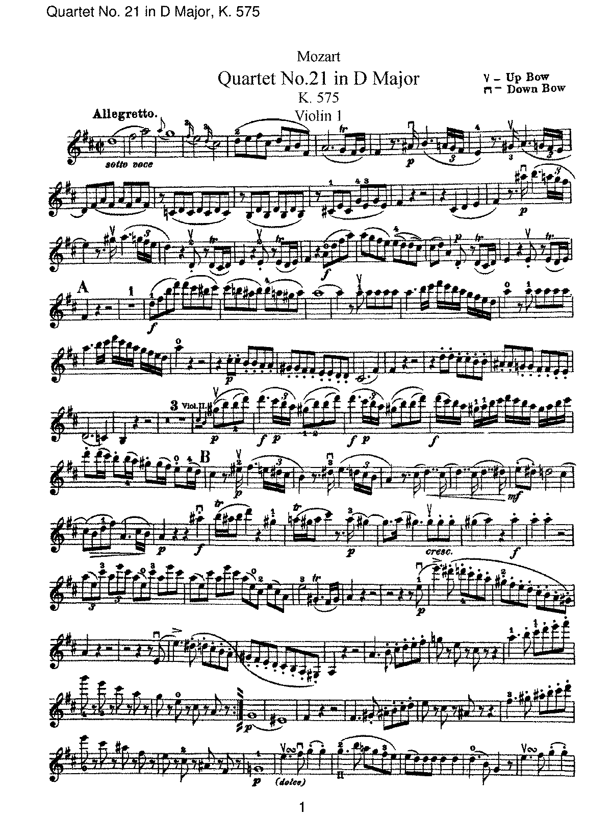 String quartet no21 in d major k575 mozart wolfgang amadeus string quartet no21 in d major k575 mozart wolfgang amadeus imslppetrucci music library free public domain sheet music hexwebz Gallery