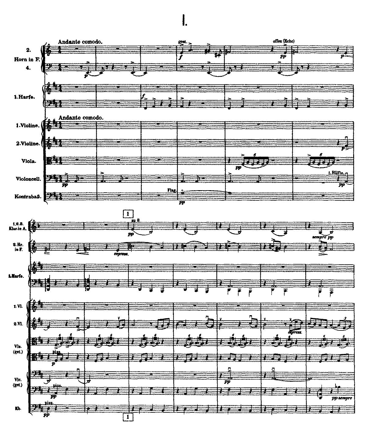 Free Sheet Music Public Domain: Symphony No.9 (Mahler, Gustav)