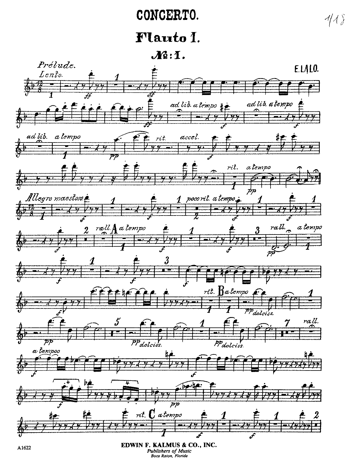 PMLP35142-Lalo - Cello Concerto part1 Flute1.pdf