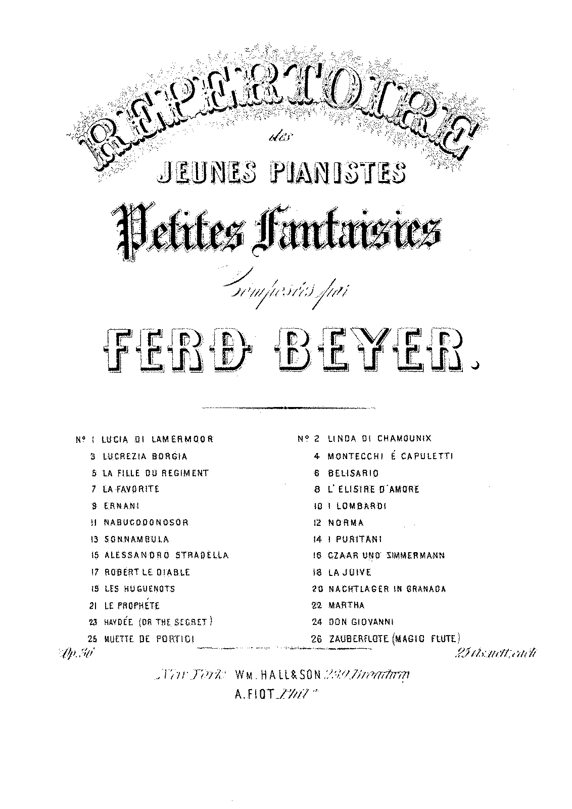 PMLP226993-Beyer - 36-22 Repertoire des jeunes Pianistes op 36 no 22 Haydée, or the Secret - Hall & Son.pdf