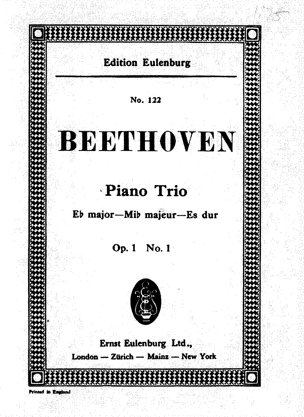 Beethoven - Piano Trio No.1 - Variations.pdf