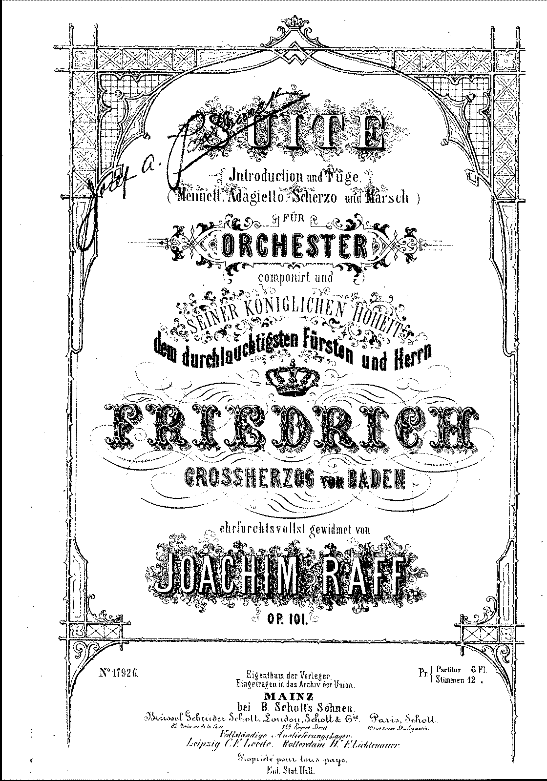 Raff - Op.101 - Suite for Orchestra.pdf